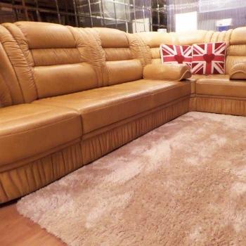 Бежевый ковер с длинным ворсом Ultrasoft HP - Beige Carpet